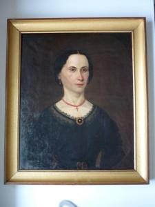 Portrait Mme Berlioz née Agnès Jouve