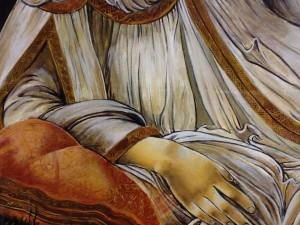 Vénus Détail du drapé
